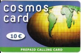 GREECE - Cosmos Card, Amimex Prepaid Card 10 Euro(dark Blue, 807 8888), No CN, Used - Griekenland