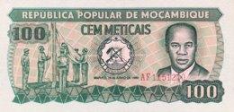 Mozambique 100 Meticais, P-126 (1980) - UNC - Mozambique