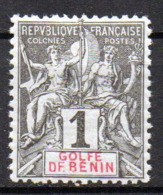 Col17  Colonie Benin N° 20 Neuf X MH Cote 6,00€ - Bénin (1892-1894)