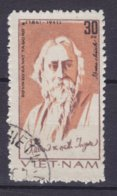 Vietnam 1982 Mi. 1257 30 Xu Rabindranath Tagore, Indischer Dichter Und Philosoph, Nobelpreis 1913 ERROR Variety At Top ! - Vietnam