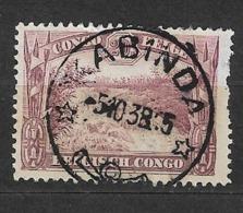 CONGO BELGA   -   1931 Definitive Issues   1931 Persone E Vedute Dal Congo  Sankuru River Rapids   USED - 1923-44: Usados