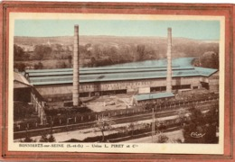 CPA - BONNIERES-sur-SEINE (78) - Aspect Des Usine Métallurgiques De St-Eloi De L. Piret - Années 30 - Bonnieres Sur Seine