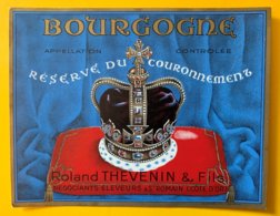 11902 - Bourgogne Réserve Du Couronnement Roland Thévenin - Bourgogne