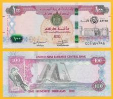 United Arab Emirates 100 Dirhams P-new 2018 Commemorative Year Of Zayed UNC - United Arab Emirates
