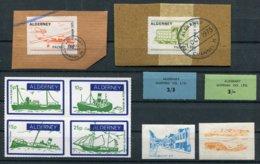 Alderney X 25 Packet Shipping Local Bird Ships Mint + Used Stamps - Alderney