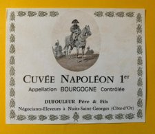 11905 -  Bourgogne Cuvée Napoléon 1er - Bourgogne