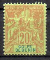 Col17  Colonie Benin N° 26 Neuf X MH Cote 25,00€ - Unused Stamps