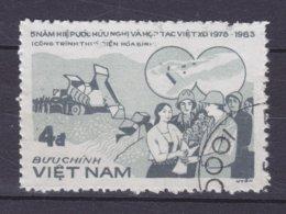 Vietnam 1983 Mi. 1385    4 D Dammbau Am Schwarzen Fluss - Vietnam
