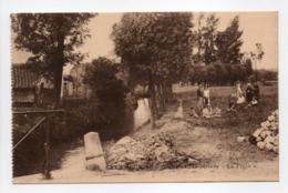 """- CPA GREZ-DOICEAU (Belgique) - Vue Sur La Rivière """"Le Train"""" (avec Personnages) - Photo P.I.B. - - Grez-Doiceau"""