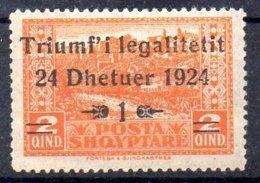 Albania Sello Nº Yvert 144 ** Valor Catálogo 9.0€ - Albania