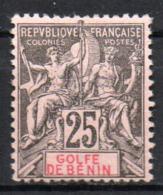 Col17  Colonie Benin N° 27 Neuf X MH  Cote 65,00€ - Unused Stamps