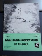 8) RIVISTA ROYAL SAINT HUBERT CLUB DE BELGIQUE CACCIA 1967 N°3 - Fischen + Jagen