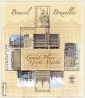 4175/79** Blok 193** Grote Markt Brussel Postfris Met Toeslagzegels - BF 193** Grand- Place Bruxelles MNH - Blocks & Sheetlets 1962-....