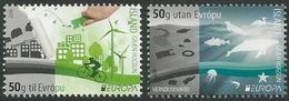 Europa 2016 Islans / Set 2 Stamps  + 2 Selfadhesive - 2016