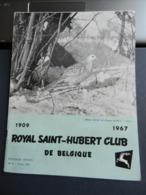8) RIVISTA ROYAL SAINT HUBERT CLUB DE BELGIQUE CACCIA 1967 N°2 - Fischen + Jagen