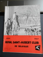 8) RIVISTA ROYAL SAINT HUBERT CLUB DE BELGIQUE CACCIA 1967 N°4 - Fischen + Jagen