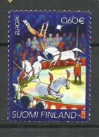 Finland 2002 Europa: Circus  Mi 1623, MNH(**) - Unused Stamps