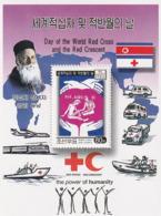 NORTH KOREA - COREA DEL NORTE - 2002 Red Cross And Red Crescent - HIV AIDS - Minisheet - Corea Del Norte
