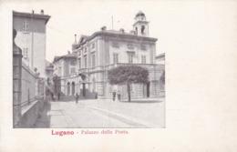 Lugano * Palazzo Della Posta, Post, Gebäude, Stadtteil * Schweiz * AK1256 - TI Tessin