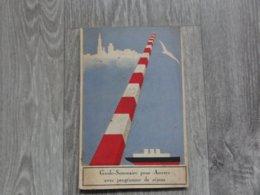 Antwerpen   *  (Promotiebrochure)  Guide -Sommaire Pour Anvers Avec Programme De Séjour - Dépliants Touristiques