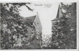 BONNEVILLE ..-- Eglise Et Presbytère . - Andenne