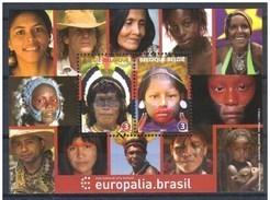 Blok 196** België 2012 - 4190/91** Europalia Brasil ** (Brésil) - Bloc BF 196 XX - Blocks & Sheetlets 1962-....