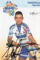7270 CP Cyclisme  Daniele Nardello  Dédicacée - Cyclisme