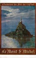 50 - LE MONT-St-MICHEL - Chemin De Fer De L'Etat - Voir Dos - - Le Mont Saint Michel