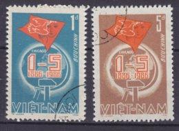 Vietnam 1986 Mi. 1681-82 'Tag Der Arbeit' Complete Set !! - Vietnam