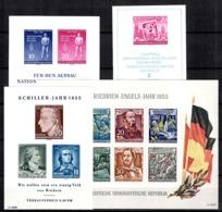 Allemagne/RDA Blocs-feuillets YT N° 4/7 Neufs ** MNH. TB. A Saisir! - [6] Oost-Duitsland