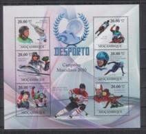 P295. Mozambique - MNH - 2010 - Sport - Winter Sports - Champions - Briefmarken