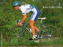 7276 Cpa  Cyclisme Baba Erdin Ganz Dédicacée - Cyclisme
