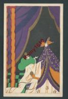 Scattina.  Art-Nouveau Série Pierrot Avec Dorures. - Illustrateurs & Photographes