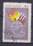 Vietnam 1983 Mi. 1400    5 D Internationales Friedenstreffen, Prag - Vietnam