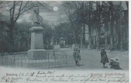 AK 0334  Hamburg - Eppendorf ( Heineke-Denkmal ) / Mondscheinkarte Um 1898 - Mitte