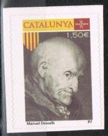 Viñeta CATALUNYA 1,50 Euros 2014, MANUEL DESVALLS, Militar Guerra Secesion, Label, Cinderella ** - Variedades & Curiosidades