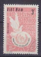 Vietnam 1986 Mi. 1742    3 D IInternationales Jahr Des Friedens Friedenstaube Peace Dove Bird Vogel Oiseau - Vietnam