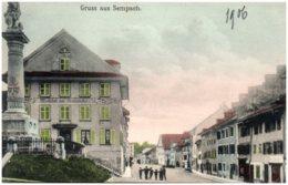 LU Gruss Aus SEMPACH - LU Lucerne