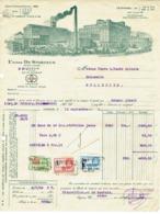 Louvain. Usines De Stordeur.  . **** - Invoices