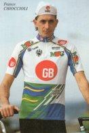 7288 CP  Cyclisme Franco Chioccioli - Cyclisme