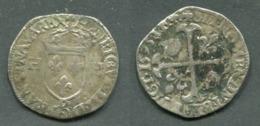 HENRI IV - DOUZAIN 1595 D LYON - 1589-1610 Henri IV Le Vert-Galant