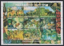 L690. Senegal - MNH - Art - Paintings - Cezanne - Wholesale - Altri
