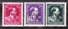 724N/P**  Leopold III Col Ouvert Surchargé -10% - BRUXELLES CENTRE - Série Complète - MNH** - LOOK!!!! - 1946 -10%