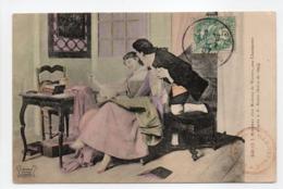 - CPA COUPLES - J. J. Rousseau Chez Madame De Warens, Aux Charmettes - Edition REYNAUD 950 - - Paare