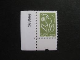 TB N° 3967, Sans Bande De Phosphore, Neuf XX. - Variétés Et Curiosités