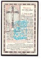 DP Petrus Aloysius Mortier ° Ieper 1803 † 1884 X Coleta G. Strubbe / Litho Vd Vyvere Petyt Brugge - Images Religieuses