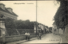 Cp L'Etang La Ville Yvelines, Grande Rue - Other Municipalities