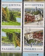 2012 EUROPA CEPT LITUANIA** 2 Sets X 2 Stamps T-b - Europa-CEPT