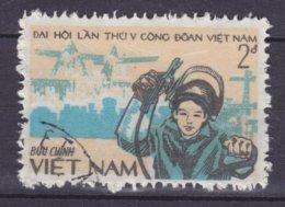 Vietnam 1983 Mi. 1388    2 D Kongress Der Vietnamesischen Gewerkschaft Arbeiter Vor Industrieanlagen - Vietnam