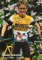 7297 CP  Cyclisme Daniel Schnider - Cyclisme
